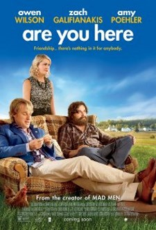 Movie poster for Are You Here with Zach Galifiankis