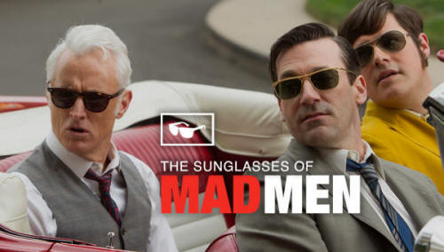 The Sunglasses of Mad Men: Old Focals