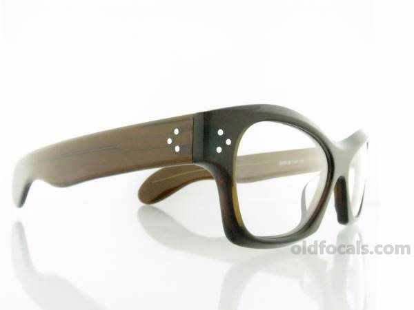 Old Focals | Collector's Choice | Rocker | Brown Smoke | 04