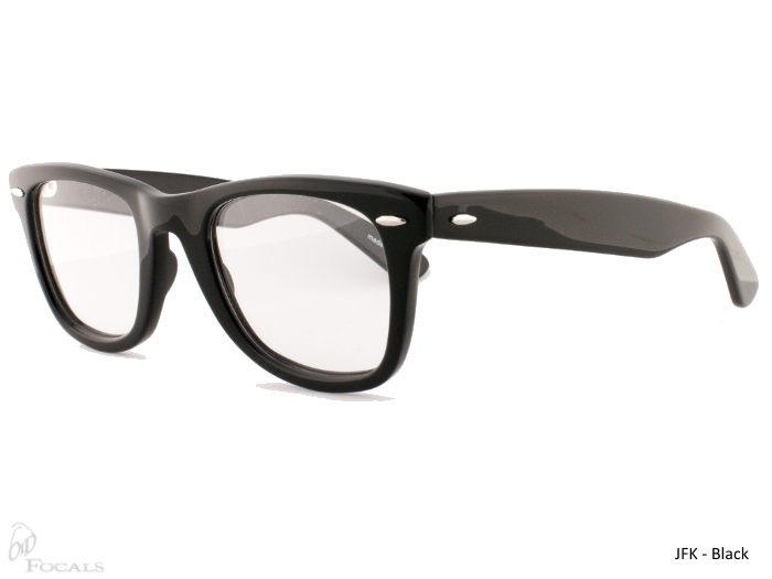 Old Focals Collection | JFK | Black | 03