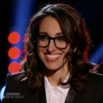 Michelle Chamuel, a contestant on The Voice, is known for wearing glasses that resemble Old Focals's JFKs.