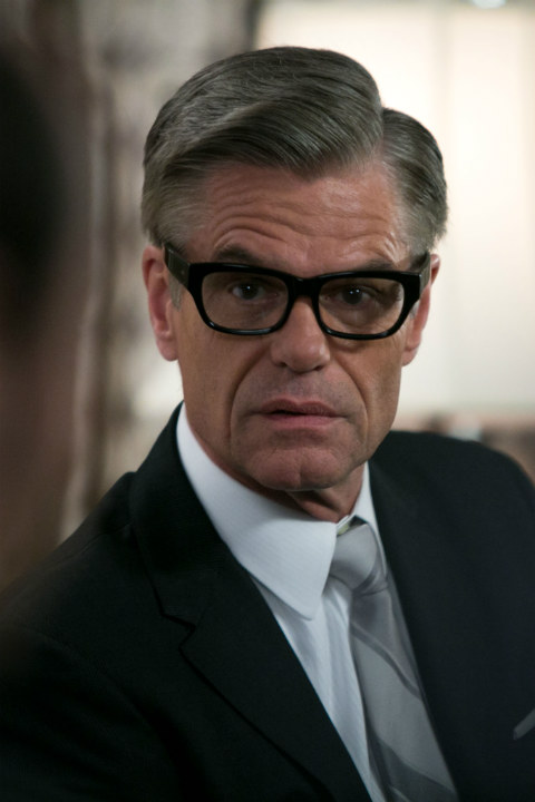 Harry Hamlin Whose eyewear is Harry Hamlin wearing in Mad Men Old Focals