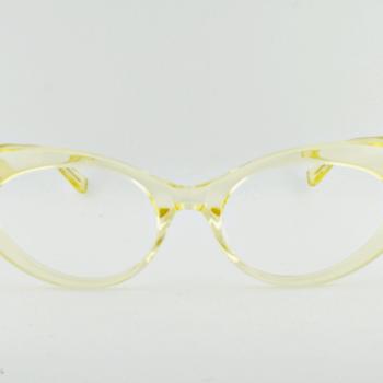Old Focals Eyewear Design - Kim - Chardonnay 01