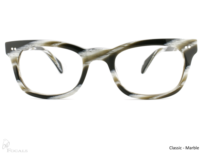 Classic Old Focals Frame Marble